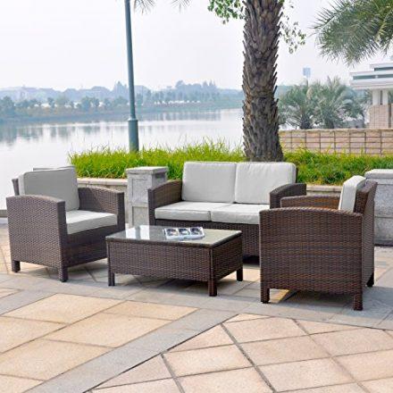 Gartensitzgruppe – für die perfekt ausgestattete Terrasse
